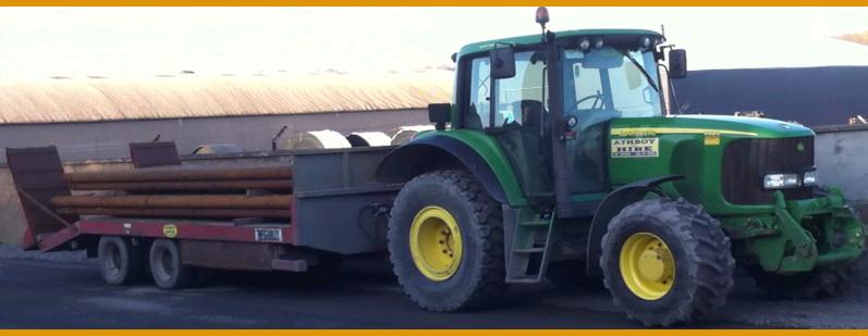 Farm Machinery & Tractor Hire